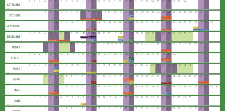 Calendari FEV 2015-2016